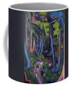 Mountain Forest Path Coffee Mug