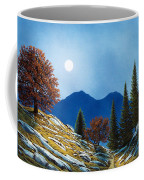Mountain Moonrise Coffee Mug