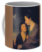 Mrs Richard Cumberland And Her Son Charles Coffee Mug