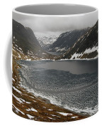 Mt. Dalsnibba And The Serpentine Descent To The Geirangerfjord Coffee Mug