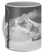 Mt. Hood In Winter Coffee Mug