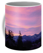 Mt Rainier Frosty Sunrise Coffee Mug