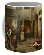 Murder In The House Coffee Mug