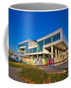 Museum Of Contemporary Art In Zagreb Exterior Coffee Mug