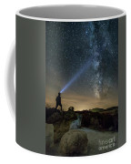 Mushroom Rocks Phenomenon Under The Night Sky Coffee Mug