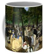 Music In The Tuileries Coffee Mug
