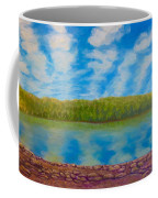 My Serenity Lies In A Place Between Heaven And Earth Coffee Mug