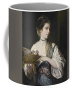 Nancy Reynolds With Doves Coffee Mug