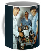 Nasa Chimpanzee, 1961 Coffee Mug