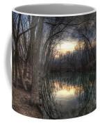 Neath The Willows By The Stream Coffee Mug
