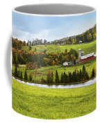 New England Farm Coffee Mug