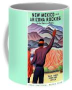 New Mexico And Arizona Rockies Coffee Mug