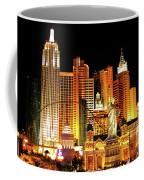 New York New York Hotel Coffee Mug