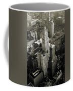 New York Woolworth Building - Vintage Photo Art Print Coffee Mug