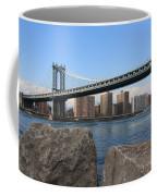 New York's Manhattan Bridge Coffee Mug