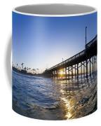 Newport Pier Curl Coffee Mug
