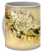 Nile River Crocodile Coffee Mug