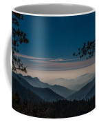 Misty Blue Shades Of Generals Highway 1 Coffee Mug