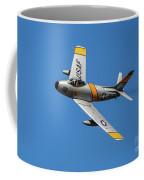 North American F-86 Sabre Coffee Mug