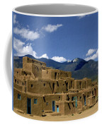 North Pueblo Taos Coffee Mug by Kurt Van Wagner
