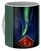 Northern Lights Chimney Coffee Mug
