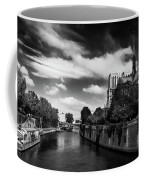 Notre Dame Cathedral And The River Seine - Paris Coffee Mug