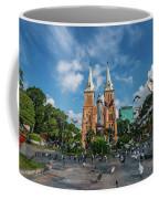 Notre-dame Cathedral Basilica Of Saigon, Officially Cathedral Basilica Of Our Lady Of The Immaculate Coffee Mug