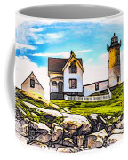 Nubble Lighthouse Coffee Mug