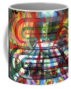 Nude With Wine Glass Coffee Mug