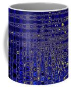 Oak Ball And Metal Plate Abstract Coffee Mug