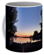Obear Park And The Danvers River At Sunset Coffee Mug