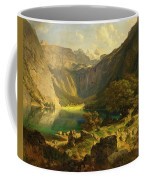 Obersee. Bavarian Alps Coffee Mug