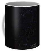 Octans, Apus, South Celestial Pole Coffee Mug