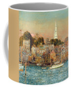 October Sundown Coffee Mug by Childe Hassam