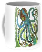 Octopus' Garden Coffee Mug by Barbara McConoughey