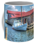 Old Point Crabbing Boat Coffee Mug
