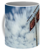Old Rustic Fuel Station Sign In The Countryside Coffee Mug