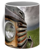 Old Vintage Truck On The Prairie Coffee Mug
