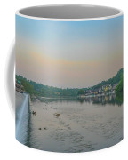 On The Schuylkill River At Boathouse Row - Philadelphia Coffee Mug