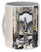 Open Door Cartoon, 1900 Coffee Mug