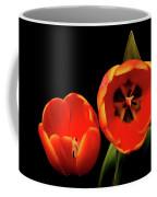 Orange Tulip Macro Coffee Mug