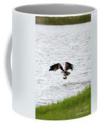 Osprey Fishing In The Afternoon Coffee Mug