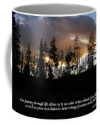 Our Journey Through Life... Coffee Mug
