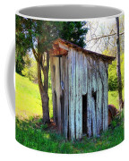 Outhouse Coffee Mug