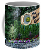 Over 100 Yrs In Bloom, Historic Garden Icon, The Butchart Gardens. Coffee Mug
