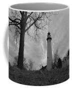 Overcast Lighthouse Coffee Mug