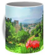 Overlooking Granada Coffee Mug