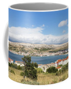 Pag Old Town In Croatia Coffee Mug