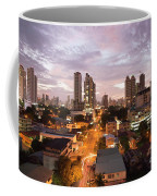Panama City At Night Coffee Mug