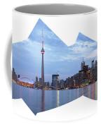 Panorama Of The City Of Toronto Coffee Mug